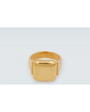 Złoty pierścionek Bottega Veneta