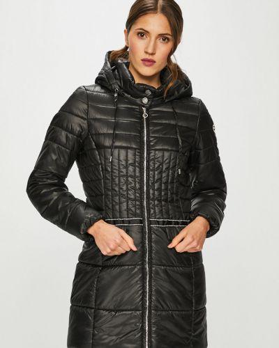 Стеганая куртка утепленная с капюшоном Liu Jo