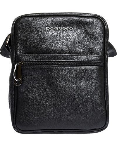 Кожаная сумка - черная Di Gregorio