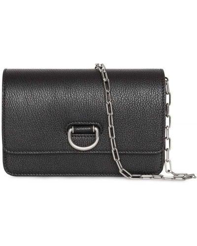 Маленькая сумка с пряжкой черная Burberry