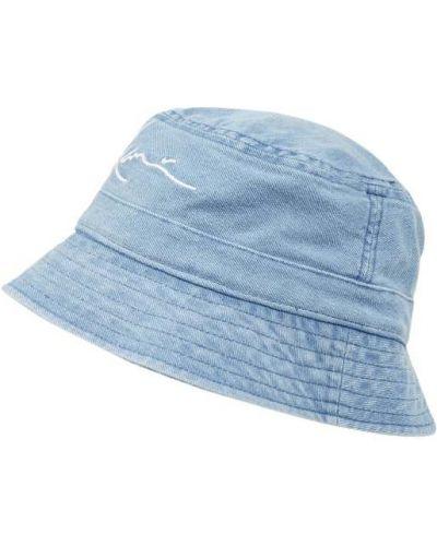 Niebieska czapka bawełniana Karl Kani