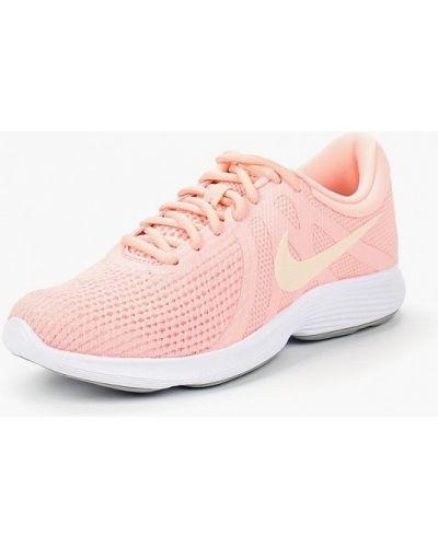 Розовые кроссовки низкие Nike