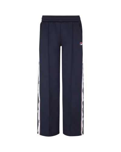 Спортивные брюки из полиэстера - синие Fila