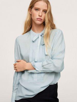 Блузка - голубая Mango