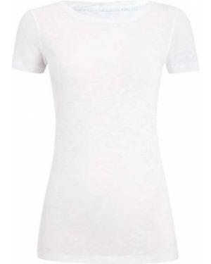 Koszula krótkie rękawy z dekoltem długo Marc O'polo
