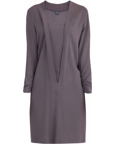 Платье с V-образным вырезом кокон Eleventy