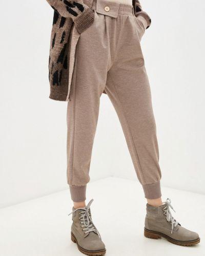 Бежевые зимние брюки Goldrai