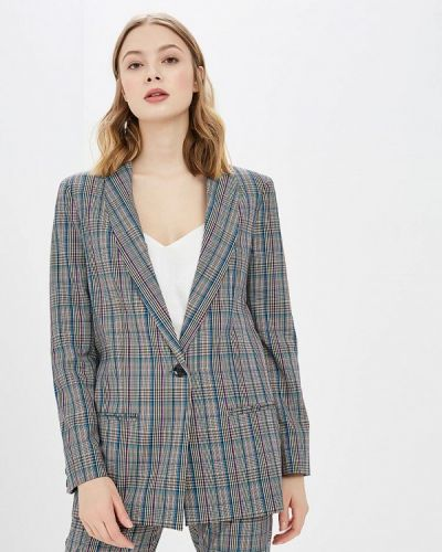 Пиджак итальянский серый Imperial