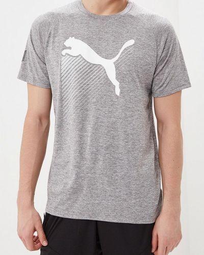 Спортивная футболка серая Puma