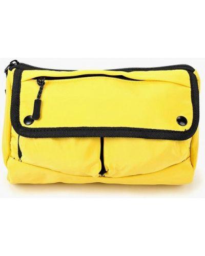 Желтая поясная сумка Topman
