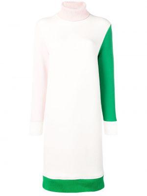 Платье миди в рубчик водолазка Thom Browne