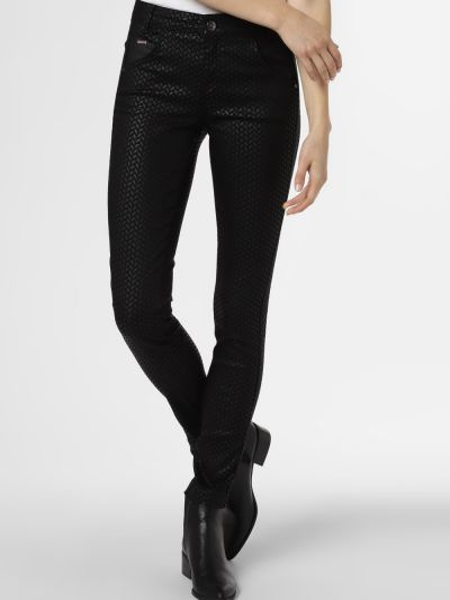 Czarne spodnie Street One