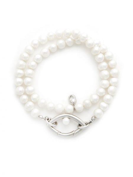 Серебряное ожерелье с жемчугом Capsule Eleven
