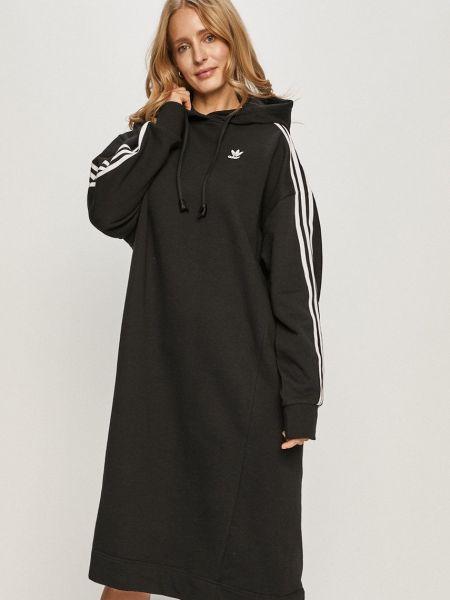 С рукавами свободное платье свободного кроя Adidas Originals