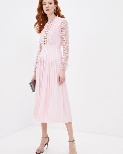 Розовое вечернее платье Cavo
