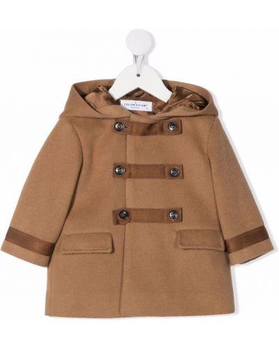 Brązowy klasyczny płaszcz Colorichiari