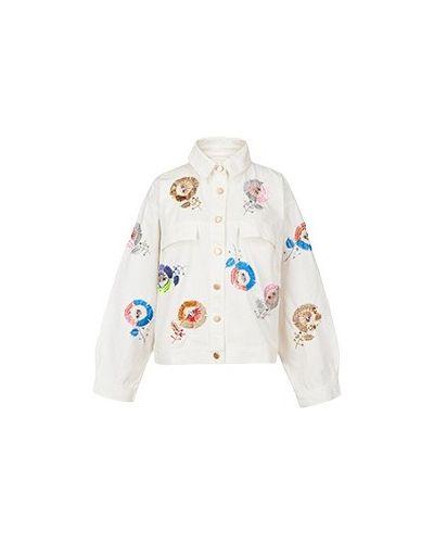 Хлопковая куртка - белая Essentiel