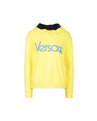 Желтая толстовка Versace