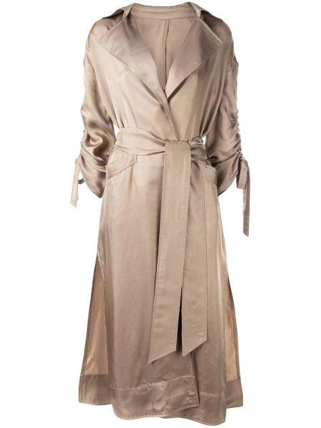 Пальто с капюшоном Cinq A Sept