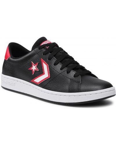 Buty sportowe skorzane - białe Converse