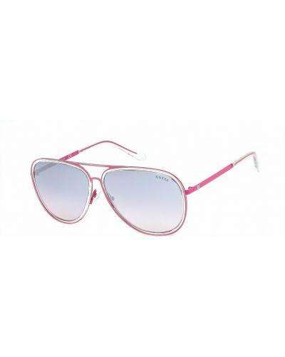 Okulary - różowe Guess