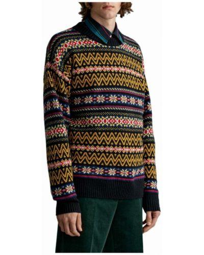 Sweter - żółty Gant