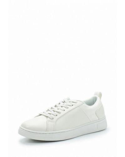 Белые низкие кеды United Colors Of Benetton