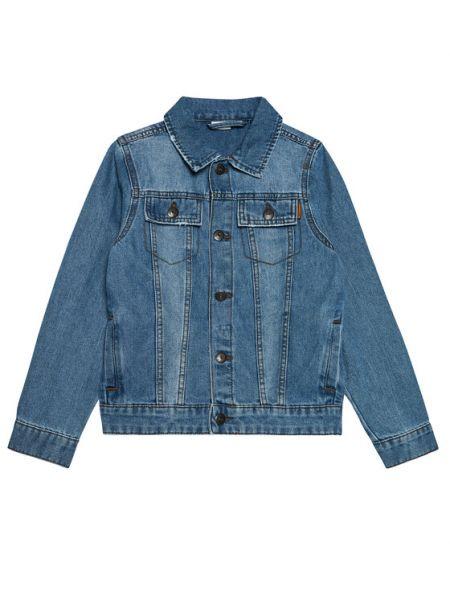 Niebieska kurtka jeansowa Name It