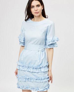 Платье - голубое D'she