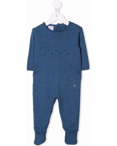 Niebieska piżama z długimi rękawami Paz Rodriguez