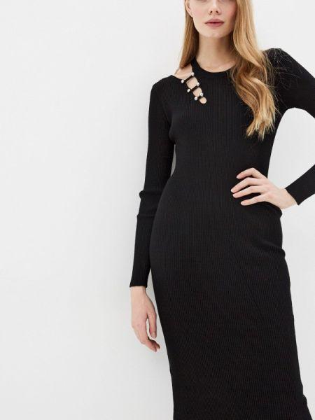 Повседневное платье черное весеннее Liu Jo