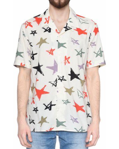 Рубашка хлопковая из вискозы Antony Morato