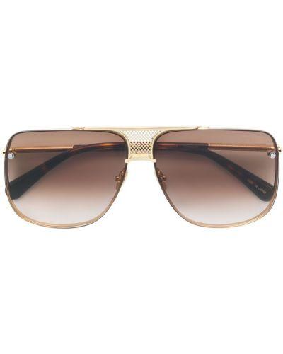 Солнцезащитные очки квадратные золотой Belstaff