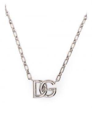 Naszyjnik łańcuch srebrny Dolce And Gabbana