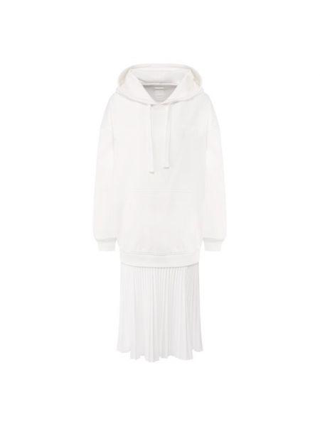 Платье миди кенгуру с карманами Valentino