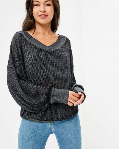Пуловер серый Free People