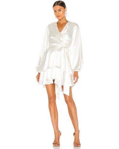 Платье атласное - бежевое Elliatt