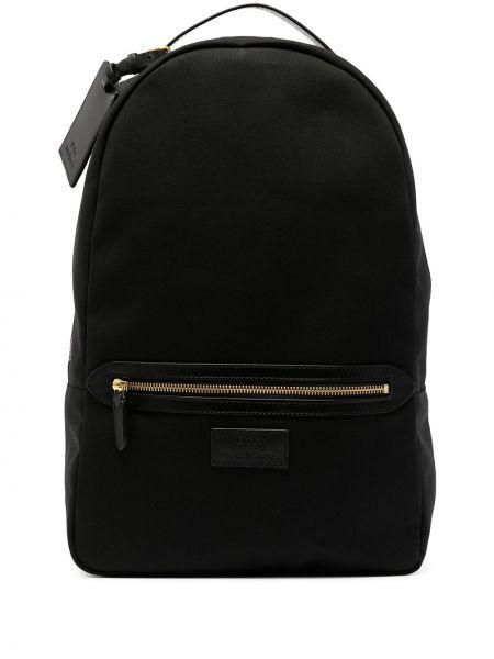 Plecak skórzany - czarny Polo Ralph Lauren