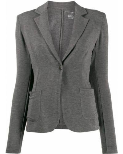 Пиджак в полоску с накладными карманами Majestic Filatures