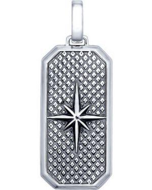 Медальон с декоративной отделкой с подвесками Sokolov