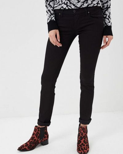 Черные джинсы-скинни Diesel