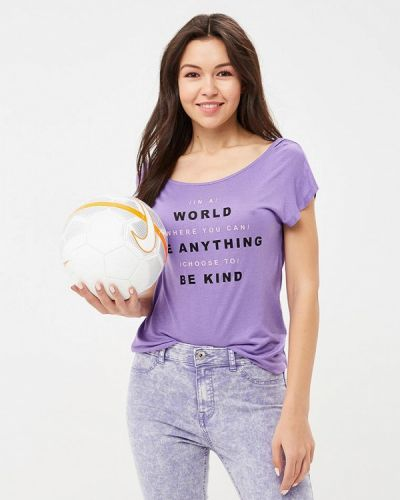 Фиолетовая футболка Ovs