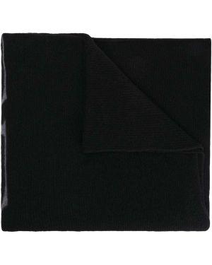 Czarna narzutka wełniana asymetryczna Off-white