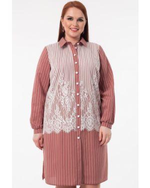 Платье на пуговицах платье-рубашка Wisell