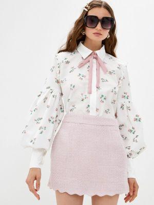 Белая блузка с оборками Sister Jane