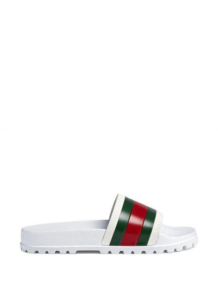 Sandały codziennie biały Gucci