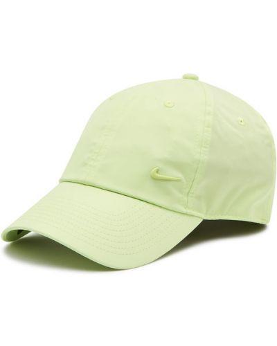 Zielona czapka z daszkiem Nike