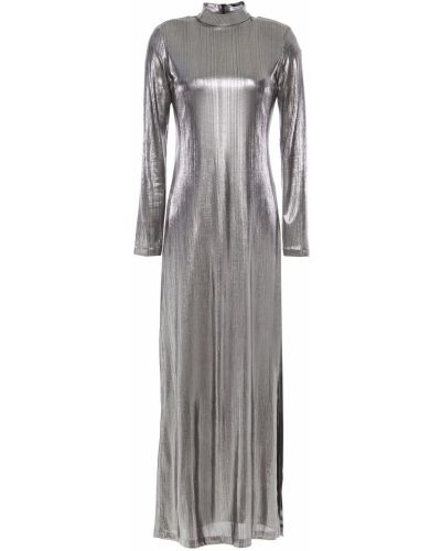 Облегченное платье макси металлическое Bella Freud