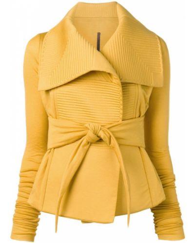 Прямая куртка Rick Owens Lilies