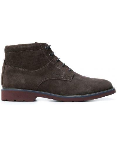 Ботильоны замшевый для обуви Geox